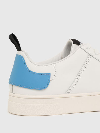 Diesel - S-CLEVER LOW LACE, Bianco/Blu - Sneakers - Image 4