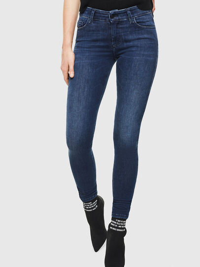 Diesel - Slandy 0890K, Blu Scuro - Jeans - Image 1