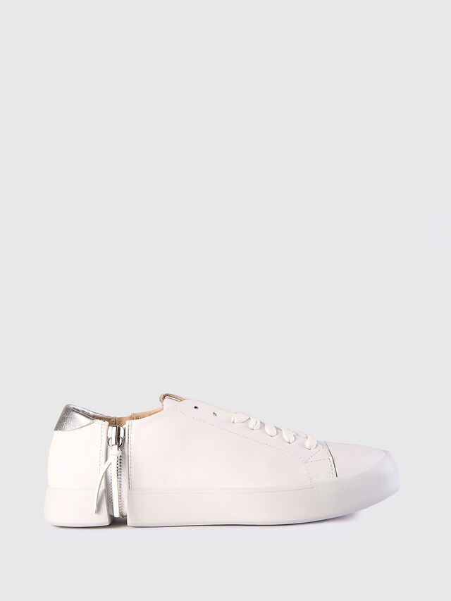 Diesel - S-NENTISH LC W, Bianco - Sneakers - Image 1