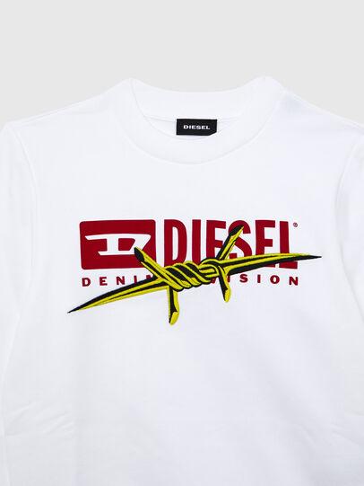 Diesel - SBAYBX5, Bianco - Felpe - Image 3