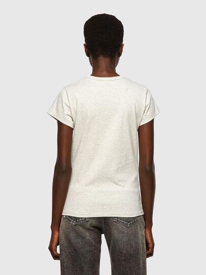 Diesel - T-SLICUP, Grigio Chiaro - T-Shirts - Image 2