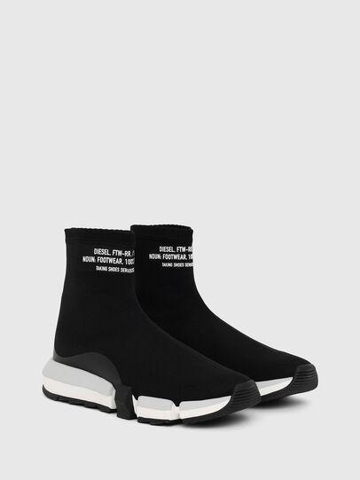 Diesel - H-PADOLA HIGH SOCK W, Nero - Sneakers - Image 2