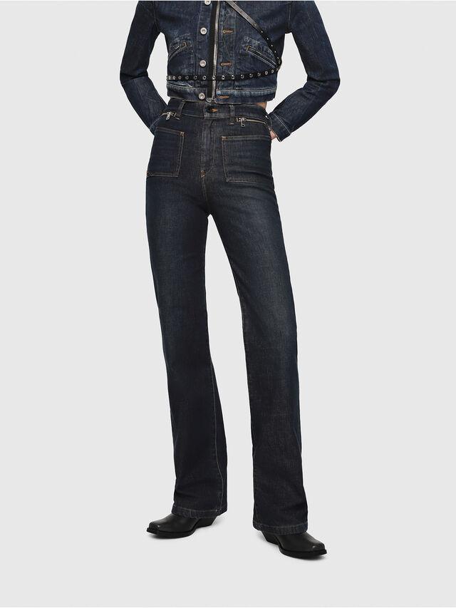 Diesel - D-Pending 080AK, Blu Scuro - Jeans - Image 1