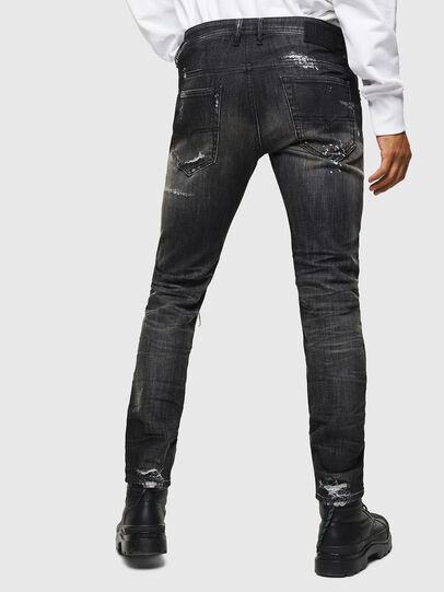 Diesel - Thommer JoggJeans 0098E, Nero/Grigio scuro - Jeans - Image 2