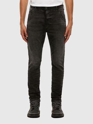 Krooley JoggJeans 009FZ, Nero/Grigio scuro - Jeans