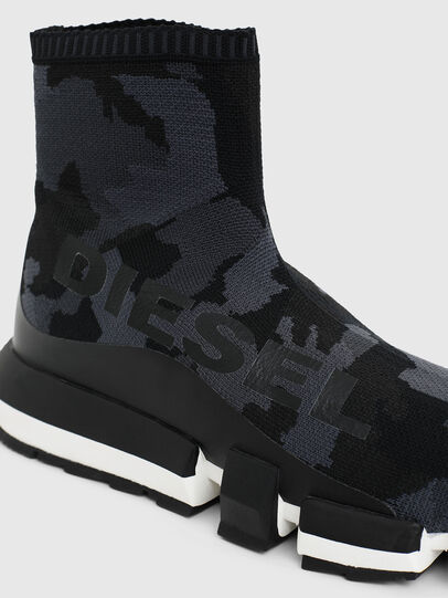 Diesel - H-PADOLA HIGH SOCK, Nero - Sneakers - Image 4