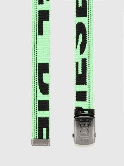 Diesel - BOXXY, Verde Fluo - Cinture - Image 3