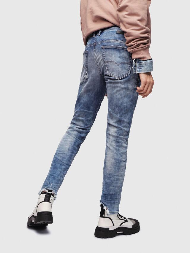 Diesel - Thommer JoggJeans 087AC, Blu medio - Jeans - Image 2