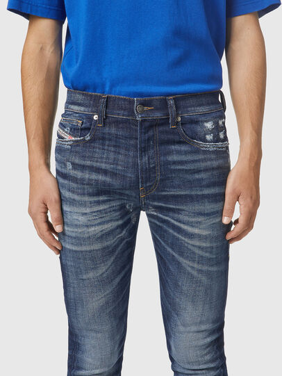 Diesel - D-Amny 09A85, Blu Scuro - Jeans - Image 3
