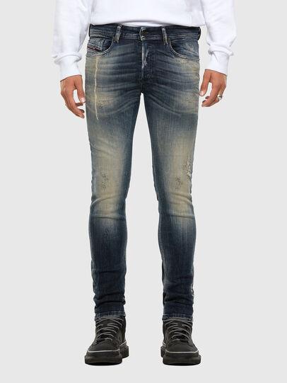 Diesel - Sleenker 069NI, Blu Scuro - Jeans - Image 1