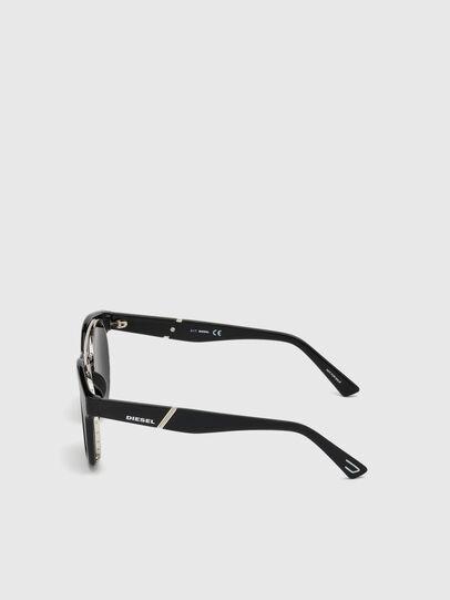 Diesel - DL0251, Nero Brillante - Occhiali da sole - Image 3