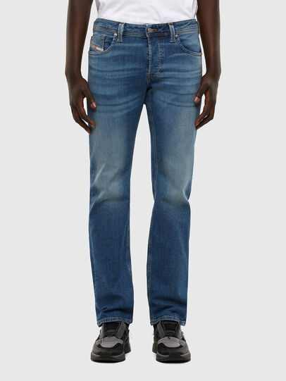 Diesel - Larkee 009DB, Blu medio - Jeans - Image 1