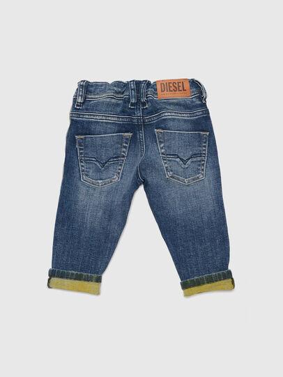 Diesel - KROOLEY JOGGJEANS-B-N, Blu/Giallo - Jeans - Image 2
