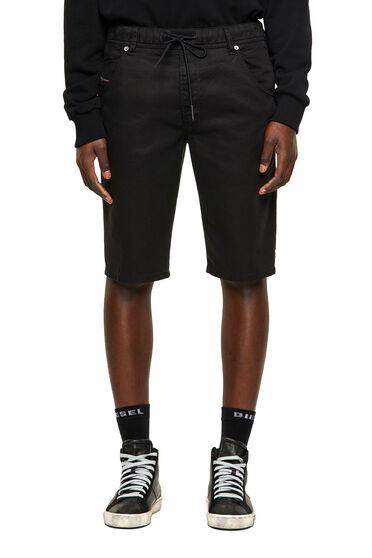 Shorts slim fit in JoggJeans® sovratinto