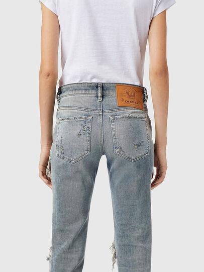Diesel - D-Lyla 09B40, Blu Chiaro - Jeans - Image 4