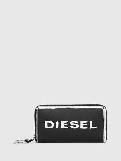 Diesel - GRANATO LC, Nero/Bianco - Portafogli Con Zip - Image 1