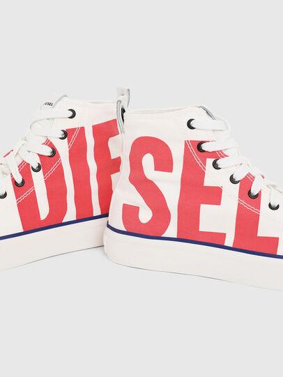 Diesel - S-ASTICO MC W, Bianco/Rosso - Sneakers - Image 4