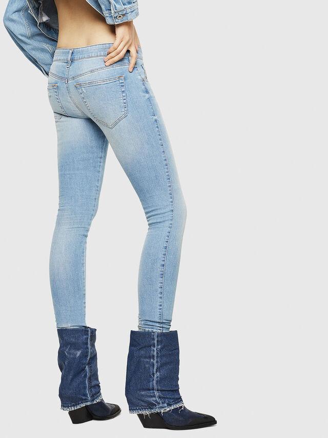 Diesel - Slandy Low 086AA, Blu Chiaro - Jeans - Image 2