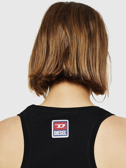 Diesel - T-SILK-A, Nero - Tops - Image 3