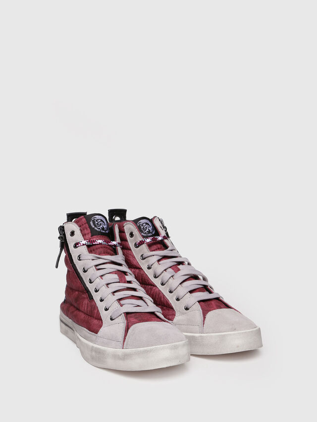 Diesel - D-VELOWS MID PATCH, Borgogna - Sneakers - Image 3