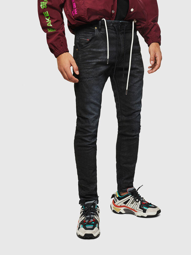 Krooley JoggJeans 069GP, Nero/Grigio scuro - Jeans