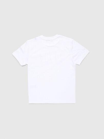 Diesel - TJUSTA9, Bianco - T-shirts e Tops - Image 2