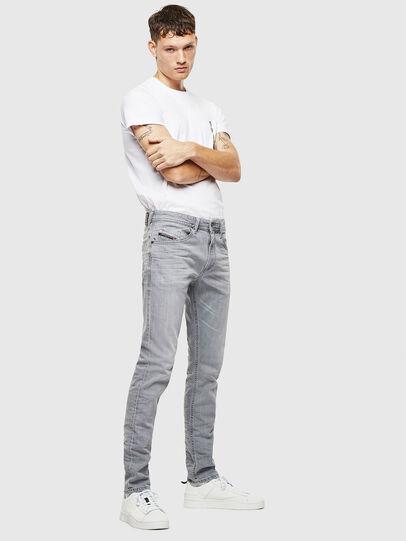 Diesel - Thommer 0890E, Grigio Chiaro - Jeans - Image 6