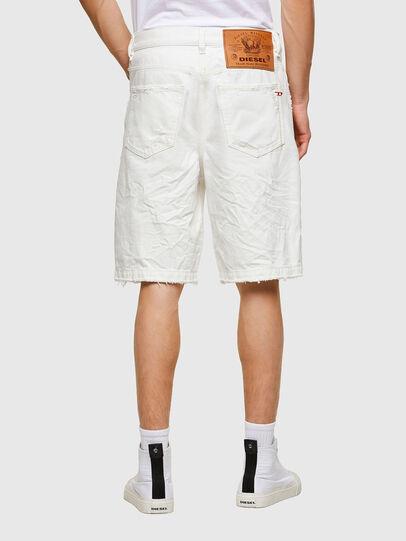 Diesel - D-MACS-SHORT, Bianco - Shorts - Image 2