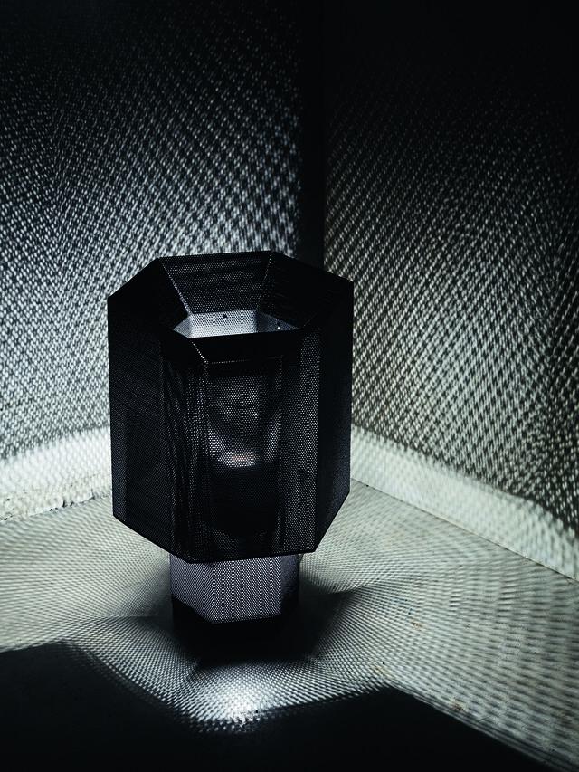 Diesel - HEXX TAVOLO, Antracite - Lampade da Tavolo - Image 3