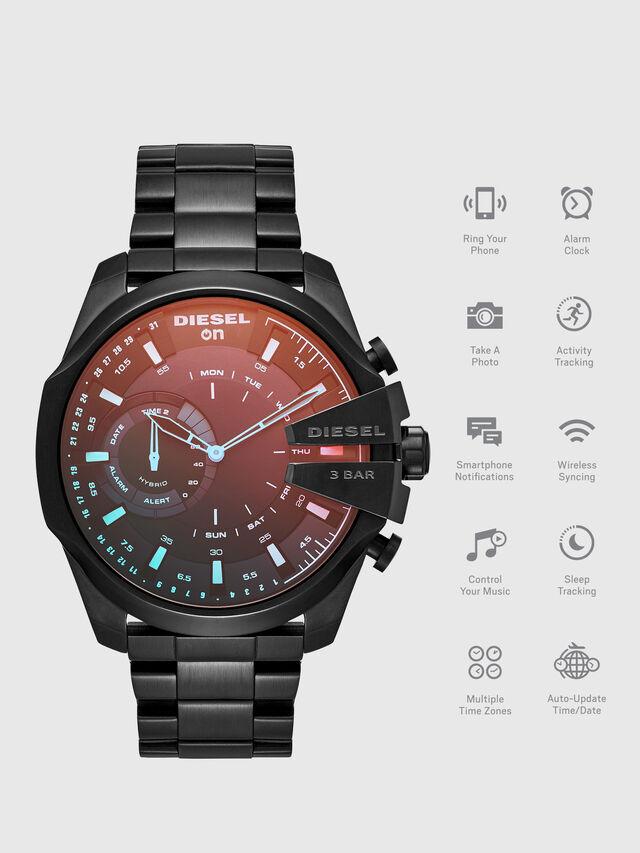 Diesel - DT1011, Nero - Smartwatches - Image 1