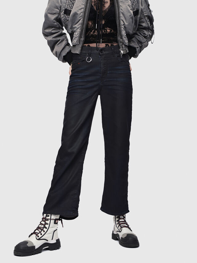 Diesel - Widee JoggJeans 0688U, Blu Scuro - Jeans - Image 1