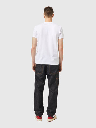 Diesel - T-DIEGOS-K26, Bianco/Rosso - T-Shirts - Image 5