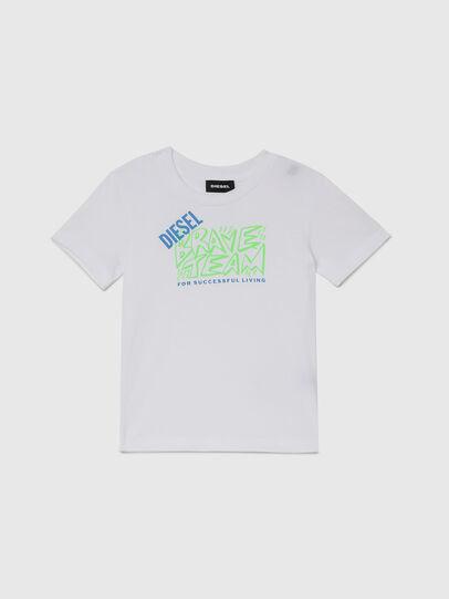 Diesel - TESSOB-R, Bianco - T-shirts e Tops - Image 1