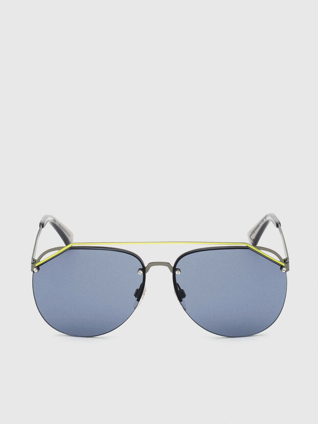DL0314, Grigio/Blu - Occhiali da sole