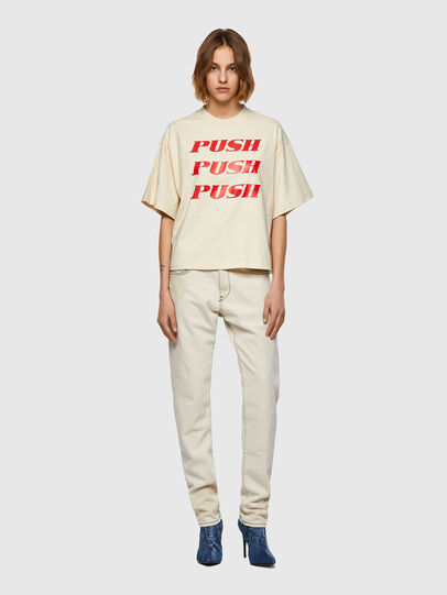 Diesel - T-BOWXY, Bianco - T-Shirts - Image 5