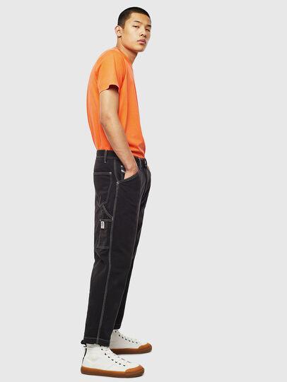 Diesel - T-THURE, Arancione - T-Shirts - Image 6
