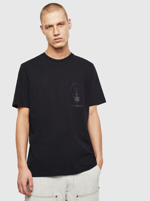 T-JUST-POCKET-T17, Nero - T-Shirts