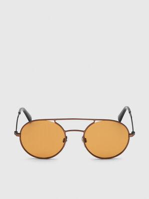 DL0301, Arancione/Nero - Occhiali da sole