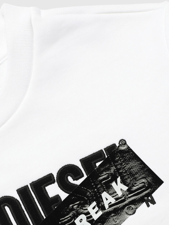 Diesel - UN-K-SCREWDIVISION-A, Bianco - Felpe - Image 3