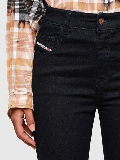 Diesel - Slandy High 009CW, Blu Scuro - Jeans - Image 3