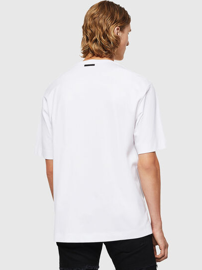Diesel - TEORIALE-X3, Bianco - T-Shirts - Image 2