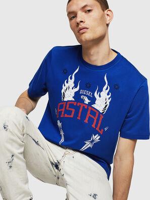 T-JUST-A5, Blu Brillante - T-Shirts