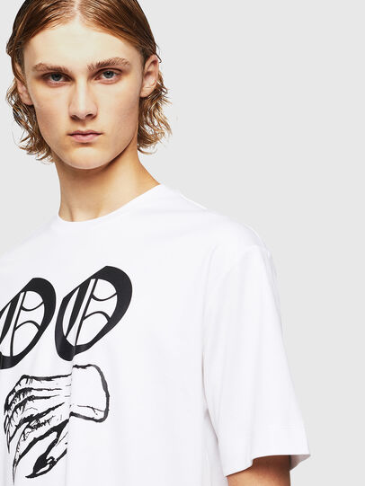 Diesel - TEORIALE-X2, Bianco - T-Shirts - Image 4