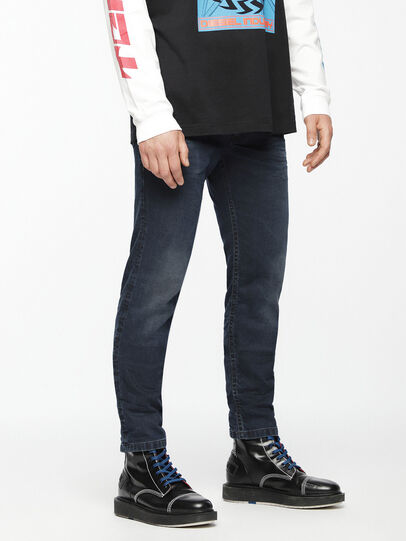 Diesel - Thommer JoggJeans 069AG, Blu Scuro - Jeans - Image 3