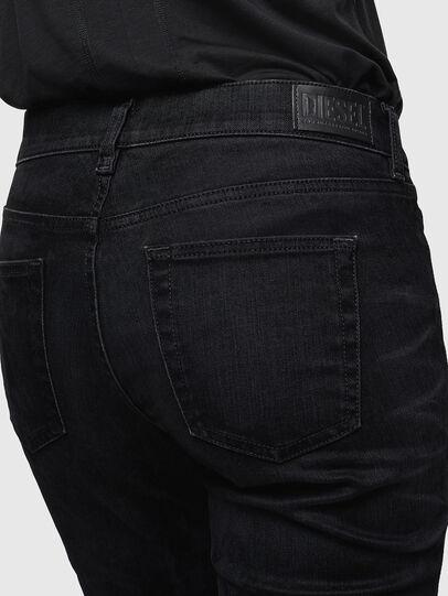 Diesel - D-Ebbey 0091I, Nero/Grigio scuro - Jeans - Image 5