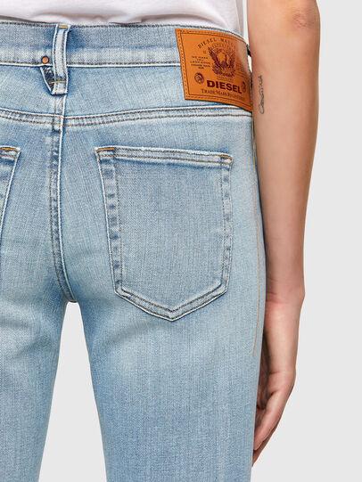Diesel - D-Ebbey 009TL, Blu Chiaro - Jeans - Image 4