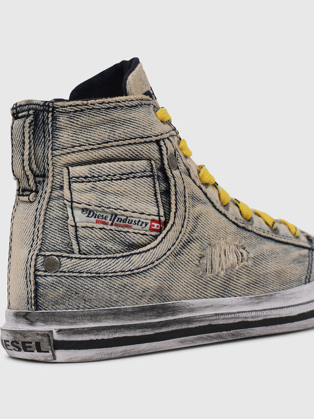 Diesel - SN MID 20 EXPOSURE Y, Grigio Jeans - Scarpe - Image 5