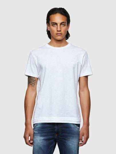 Diesel - T-RONNIE, Bianco - T-Shirts - Image 1