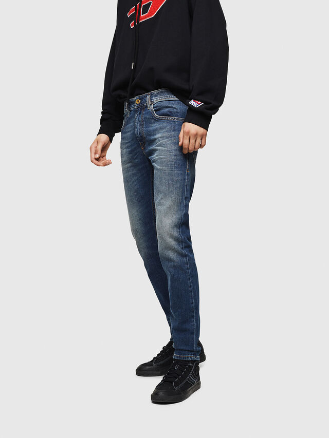 Diesel - Thommer 089AR, Blu medio - Jeans - Image 4