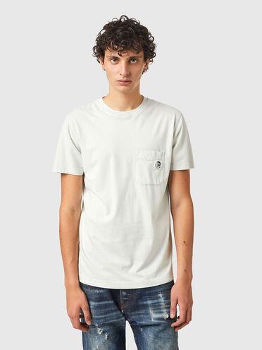 T-shirt in cotone lavato